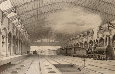 Interior of Temple Meads (Private collection)