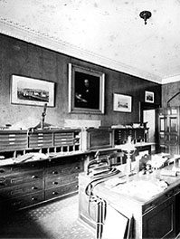 Brunel's office at his home in Duke Street, London (Elton Engineering)