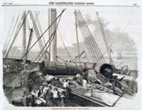 Making repairs on ss Great Eastern (University of Bristol)