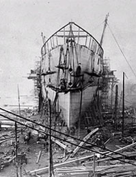ss Great Eastern under construction (ICE)