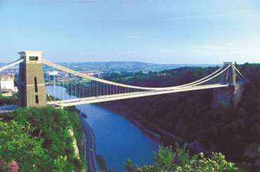 Photograph of the bridge today (Destination Bristol)